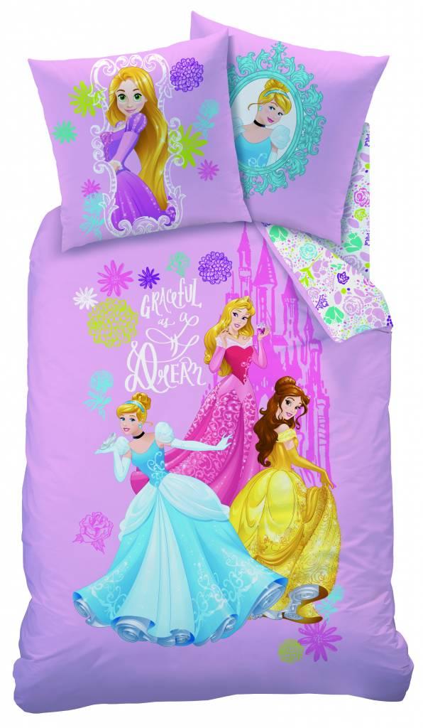 Disney Princess Gracefull dekbedovertrek 140x200cm