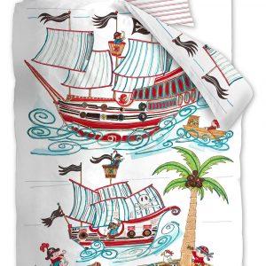 Beddinghouse Kinderdekbedovertrek Pirate Ship