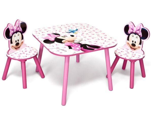 Minnie Mouse Tafel en Stoeltjes