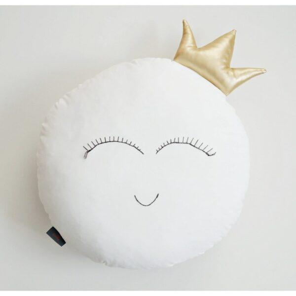 Kussen Maan met Kroon Dolly