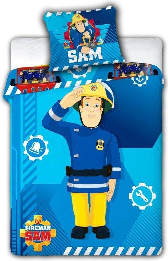 Dekbedovertrek Brandweerman Sam (100 x 135 cm)