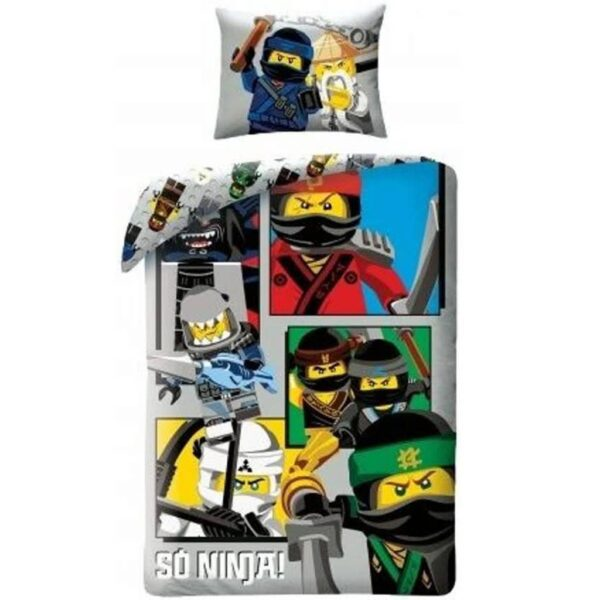 Ninjago Dekbedovertrek So Ninja! Multi