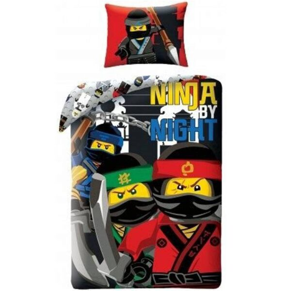 Ninjago Dekbedovertrek Ninja By Night