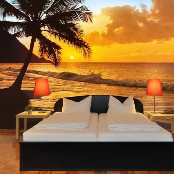Fotobehang Pacific Sunset (366 x 254 cm)