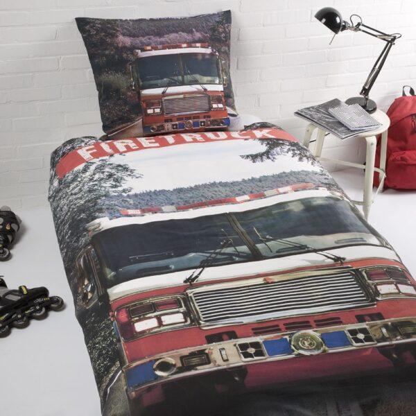Day Dream Dekbedovertrek Firetruck