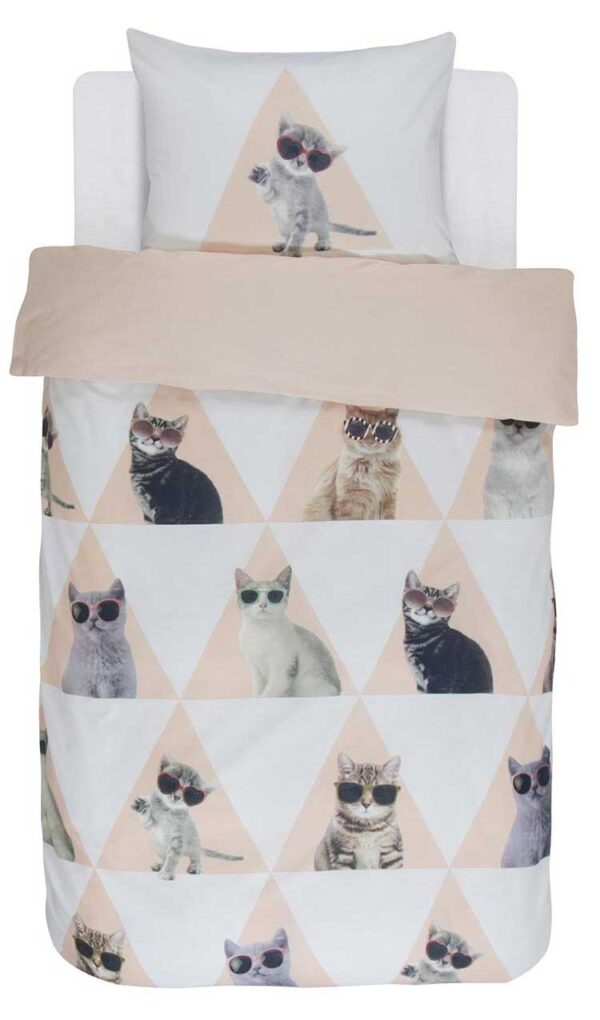 Covers & Co Dekbedovertrek Cool Cats-140x200/220