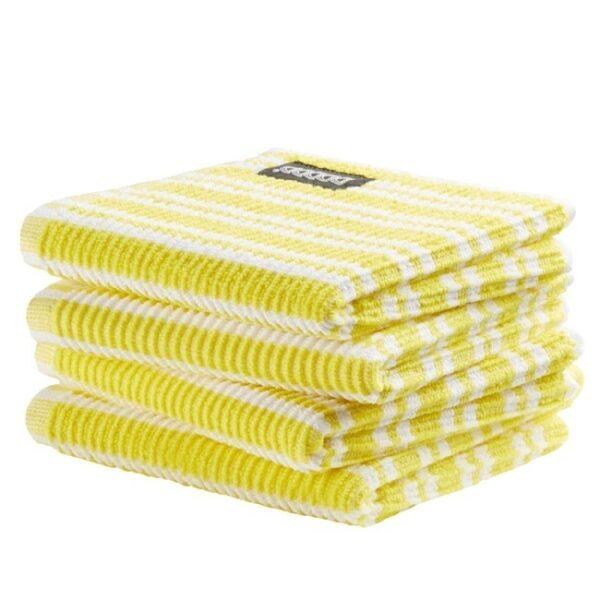 DDDDD Vaatdoek Classic Bright Yellow (4 stuks)