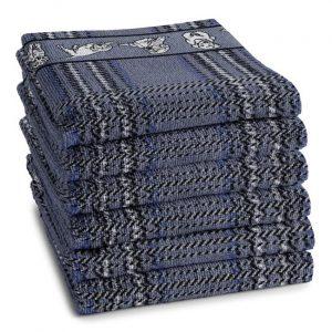 DDDDD Keukendoek Baloe Blue (6 stuks)