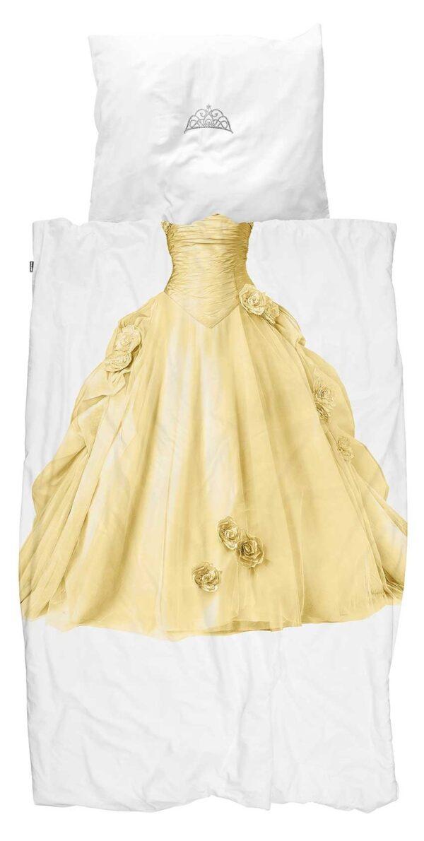 Snurk Dekbedovertrek Princess Yellow