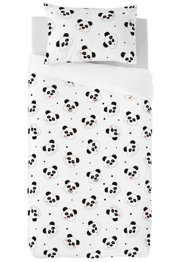 Zavelo Dekbedovertrek Lovely Pandas