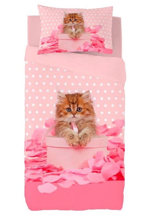 Zavelo Dekbedovertrek Kitten
