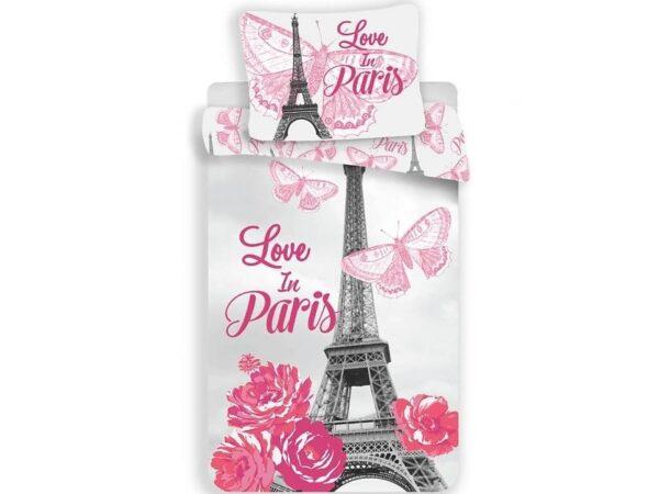 Dekbedovertrek Paris Love Roze