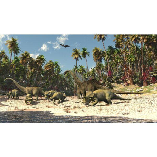 Posterbehang Dinosaurus XXL Maken