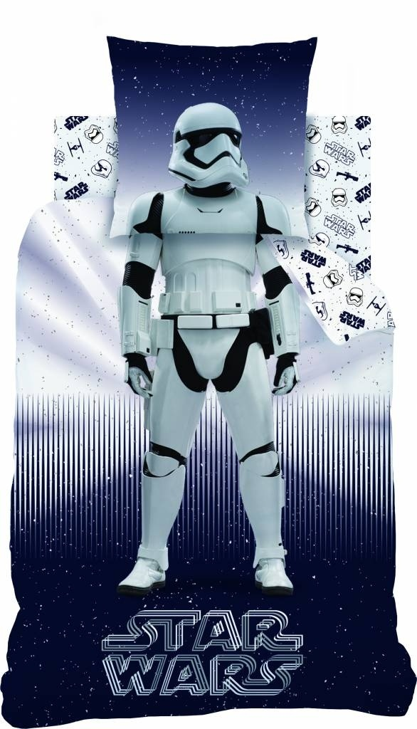 Star Wars dekbedovertrek Stormtrooper Multi