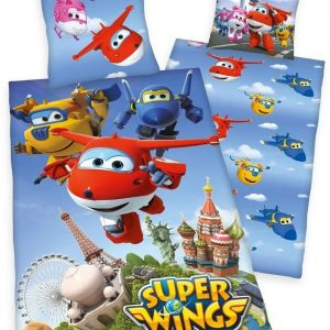 Dekbedovertrek Super Wings