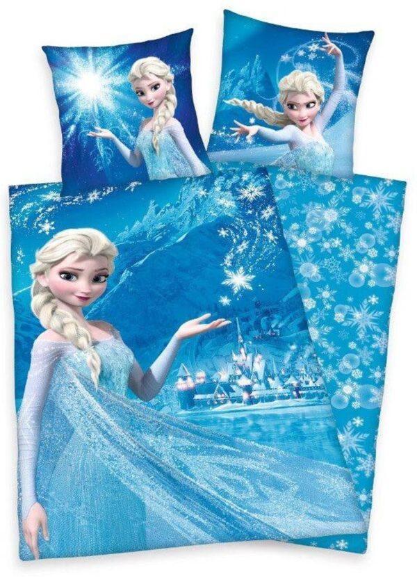 Frozen Dekbedovertrek Snowflakes