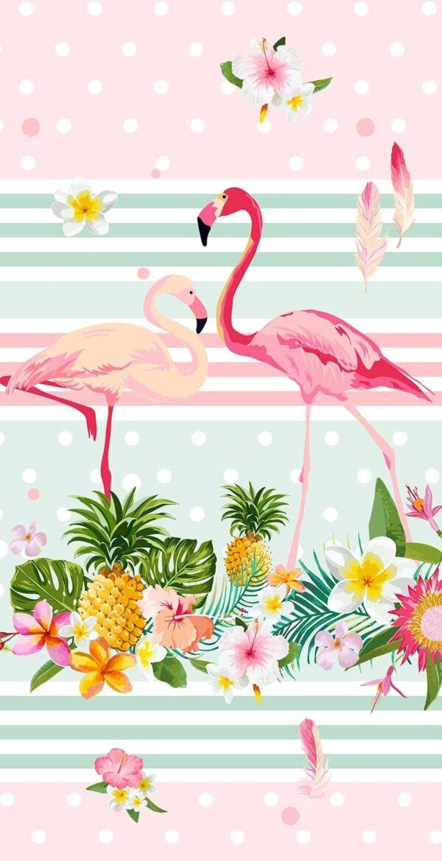 Good Morning Kids Strandlaken Flamingo