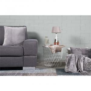 Ambianzz Plain Kussenhoes Grey
