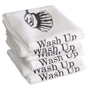 DDDDD Theedoek Wash up White (6 stuks)