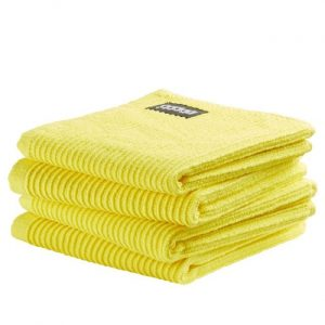 DDDDD Vaatdoek Basic Bright Yellow (4 stuks)