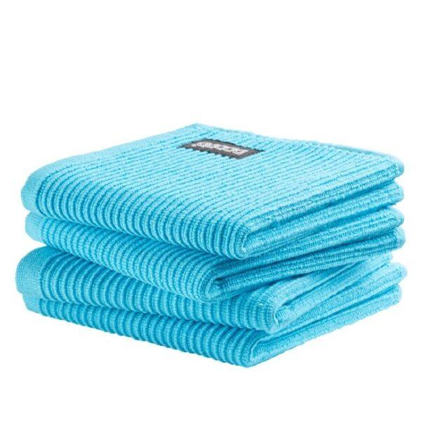 DDDDD Vaatdoek Basic Bright Blue (4 stuks)