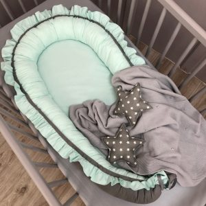 Babynestje Ruches Mint Dolly
