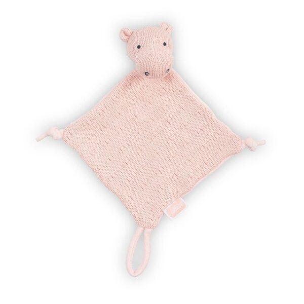 Jollein Knuffeldoekje Hippo Soft Knit Creamy Peach