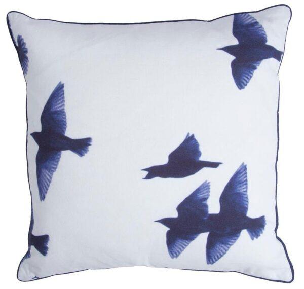 Sierkussen Walra Blue Birds