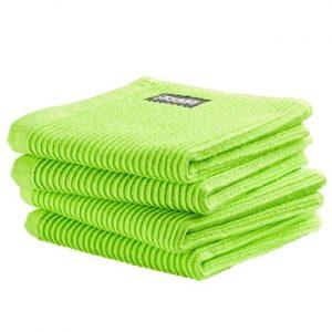 DDDDD Vaatdoek Basic Bright Green (4 stuks)