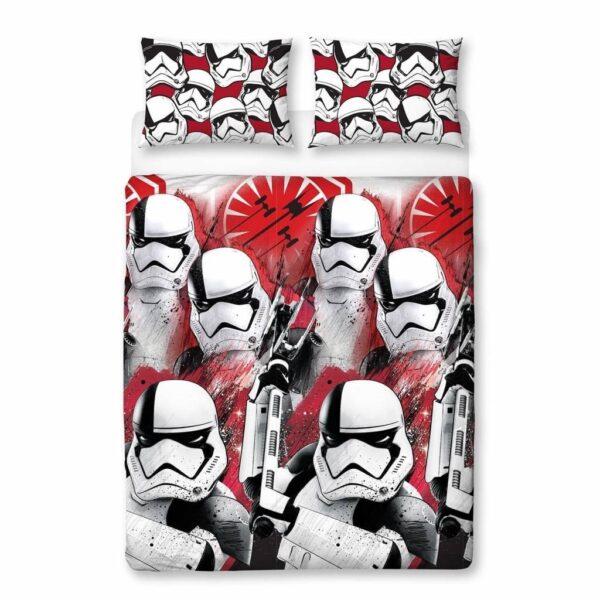 Star Wars Dekbedovertrek VIII Trooper Multi 2-persoons