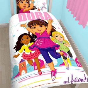 Dora & Friends Dekbedovertrek
