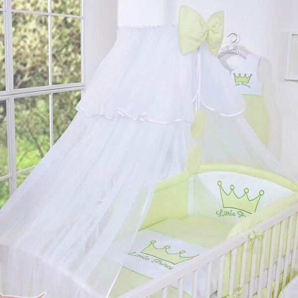 My Sweet Baby Sluier Voile Wit/Groen