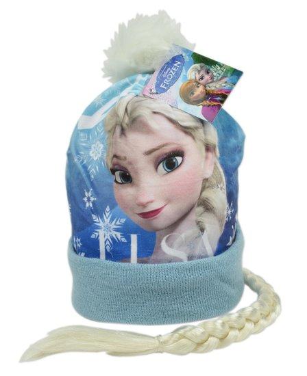 Frozen Wintermuts Blauw met vlecht 2-4 jaar