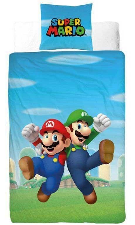 Nintendo Dekbedovertrek Mario & Luigi