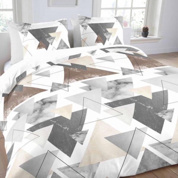 Aneeza Dekbedovertrek Triangle-140x200/220cm