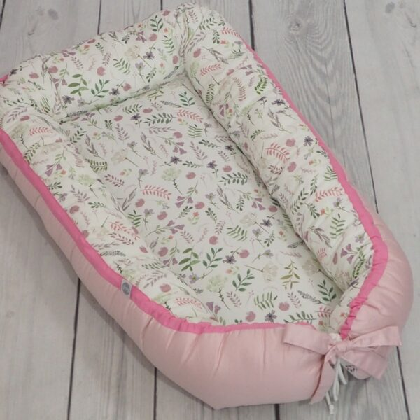 Babynestje Flowers Satin Piping Betulli