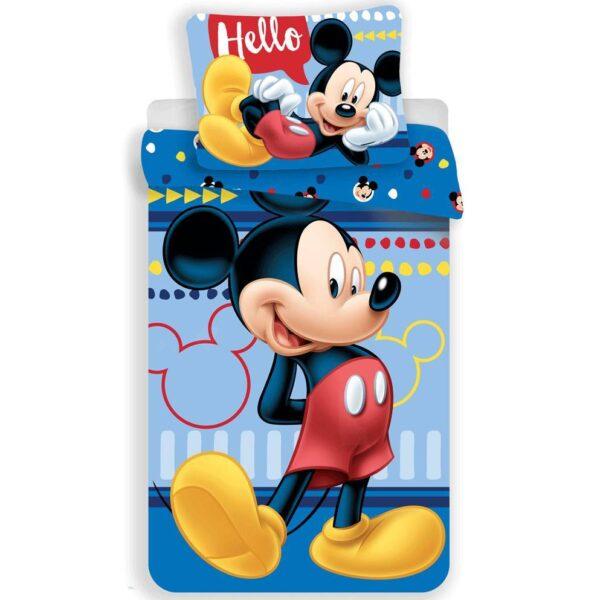 Disney Mickey Mouse Dekbedovertrek Hello