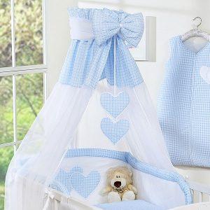 My Sweet Baby Hemeltje Strik Ruit/Blauw