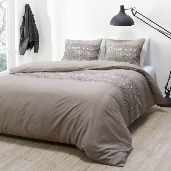 Sleeptime Elegance Brenda - Blauw Lits-jumeaux (240 x 220 cm + 2 kussenslopen) Dekbedovertrek