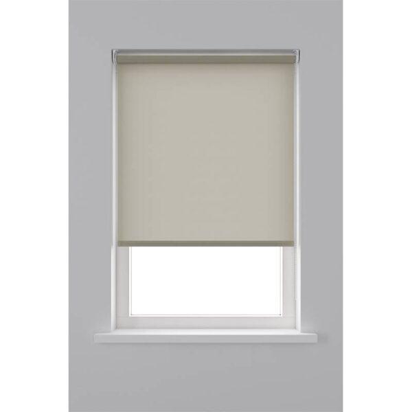 Decosol Rolgordijn Lichtdoorlatend - Licht Bruin 60 x 190 cm