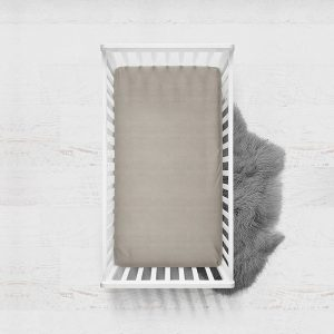 DreamHouse Bedding Verkoelend Hoeslaken Katoen - Taupe 140 x 200