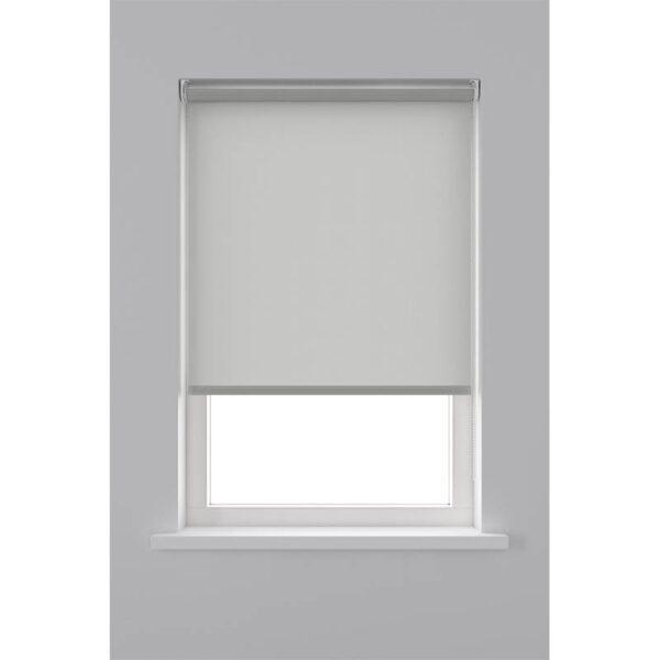 Decosol Rolgordijn Lichtdoorlatend - Licht Grijs 60 x 190 cm