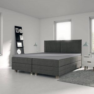 Sleeptime Bedsprei Wave - Antraciet