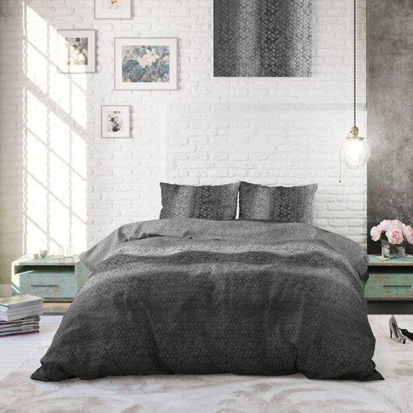Heckett Lane Hoeslaken Percale - Rood 80 x 200 cm