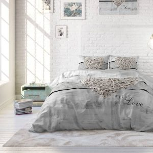 Heckett Lane Topper Hoeslaken Percale - Creme 180 x 220