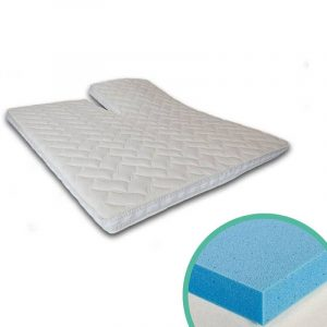 Silver Splittoppermatras Gelfoam 6 cm 140 x 200