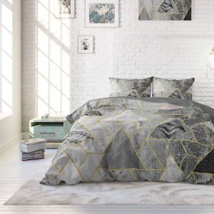 Heckett Lane Laken Percale - Creme 160 x 260 cm