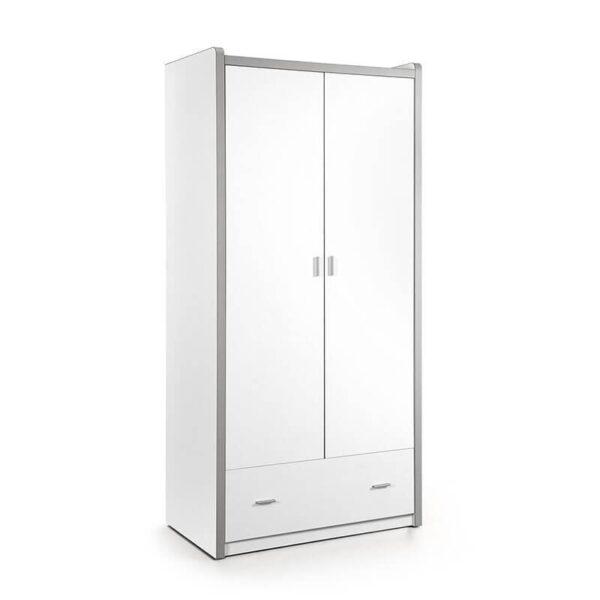 Vipack Bonny - Kledingkast 2 deurs Kleur: Wit