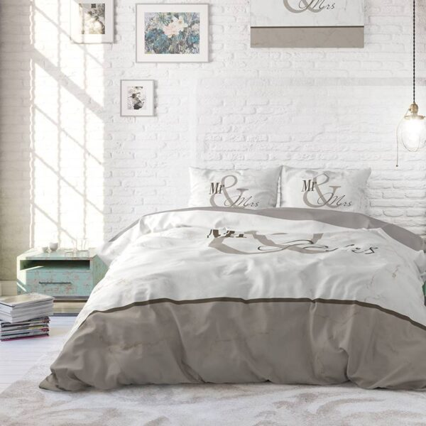 Heckett Lane Topper Hoeslaken Percale - Wit 90 x 200 cm