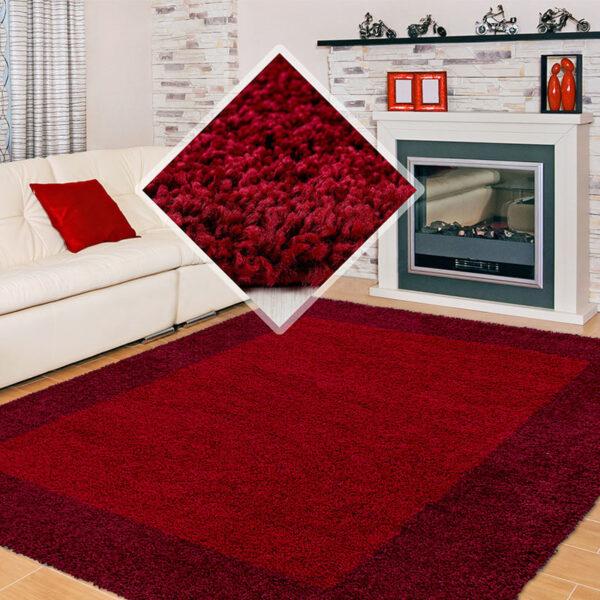 Life Vloerkleed - Bonaire - Rechthoek - Rood 160 x 230 cm
